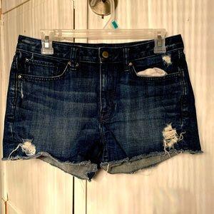🔥GAP ladies slim cut-offs denim jeans shorts 🔥